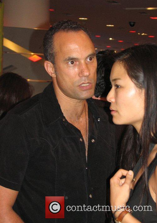 Roger Guenveur Smith attending a private after-hours party...