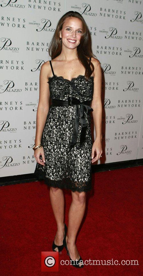 Amber Mariano Grand opening of Barneys New York...