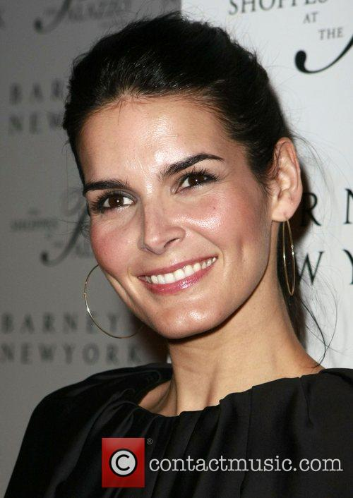 Angie Harmon Grand opening of Barneys New York...
