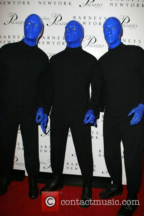 Blue Man Group Grand opening of Barneys New...
