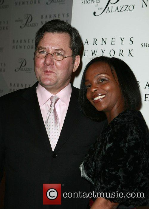 Charlie Trotter and Guest Grand opening of Barneys...