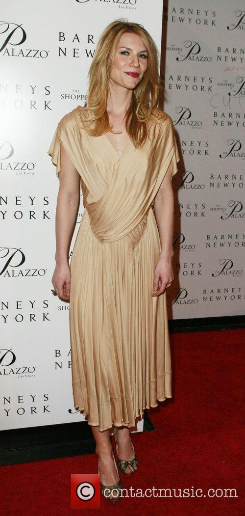 Claire Danes Grand opening of Barneys New York...