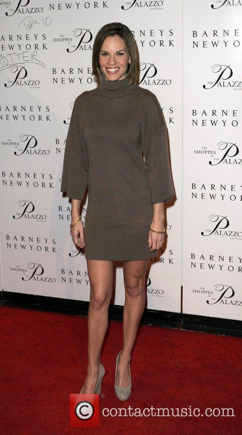 Hilary Swank Grand opening of Barneys New York...