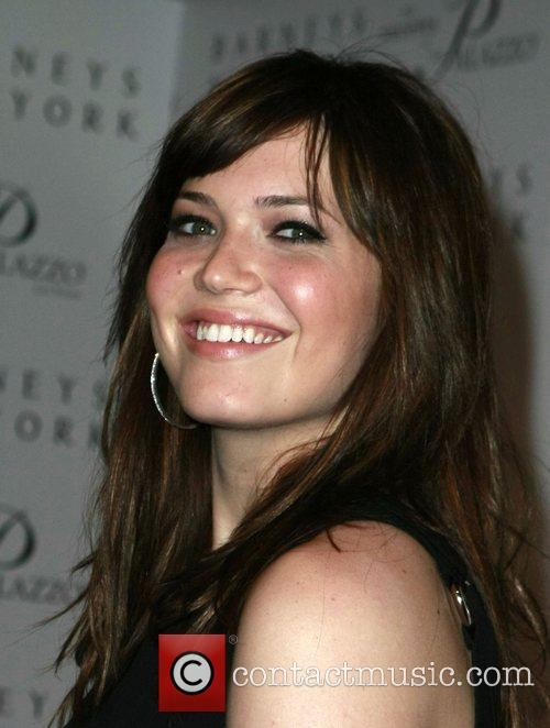 Mandy Moore Grand opening of Barneys New York...