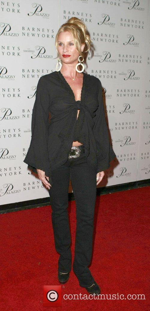 Nicolette Sheridan Grand opening of Barneys New York...