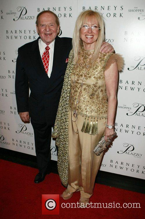 Sheldon Adelson and Dr Miriam Adelson Grand opening...