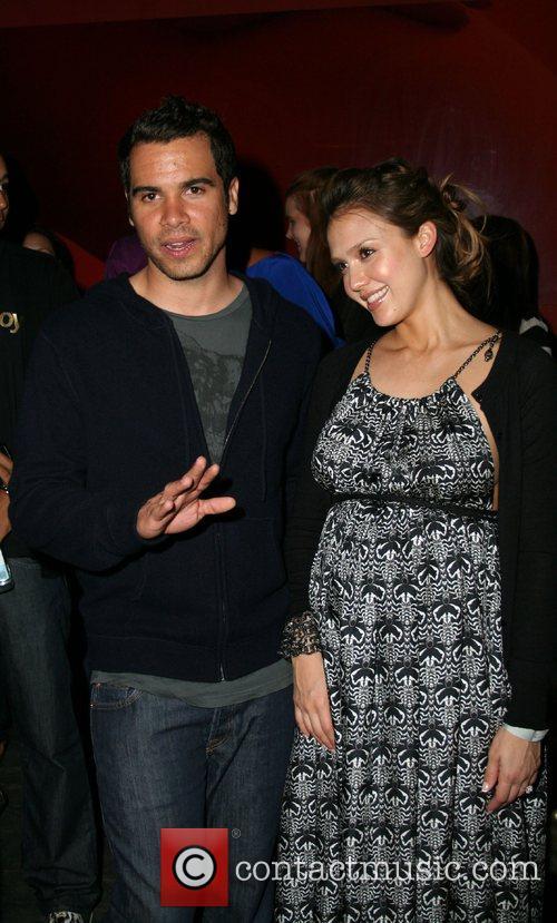 Cash Warren and Jessica Alba Baron Davis' Surprise...