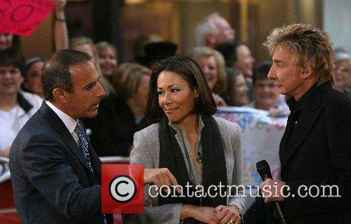 Matt Lauer, Ann Curry and Barry Manilow 1
