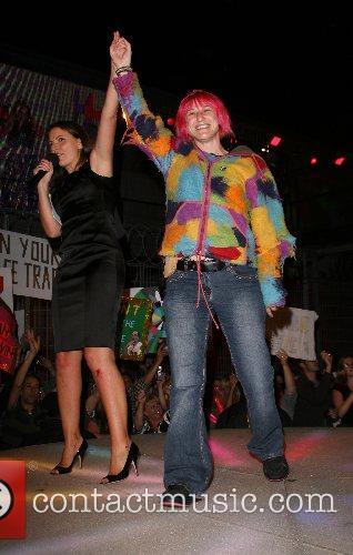 Davina McCall and Tracey Barnard Big Brother 8...