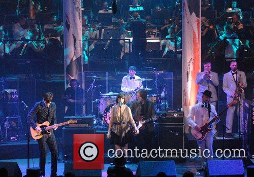 Mark Ronson and Candie Payne BBC's Electric Proms...