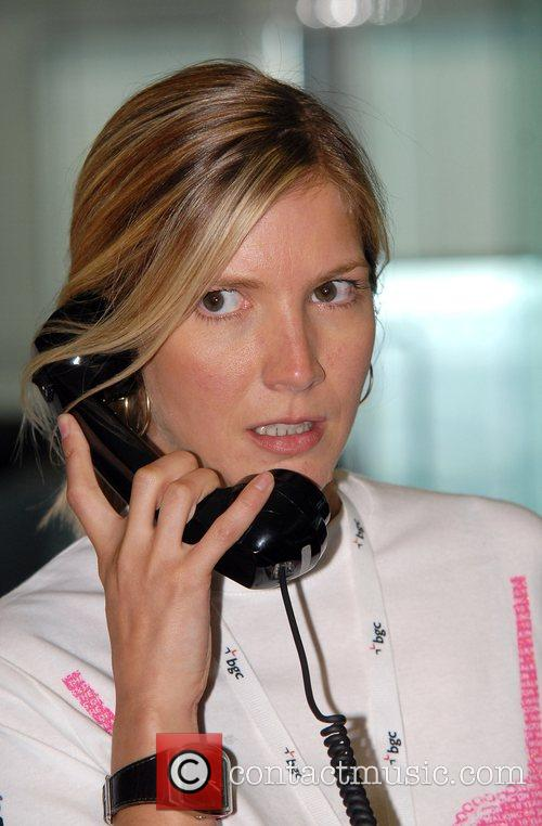 Lisa Faulkner BGC Charity Day at Canary Wharf...