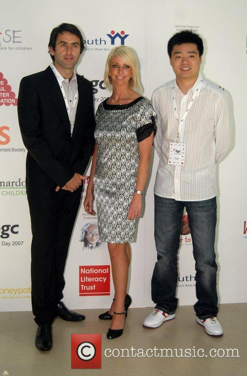 Ronnie O'Sullivan and Rachel Hunter BGC Charity Day...