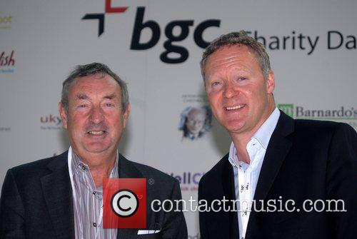 Nick Mason and Rory Bremner BGC Charity Day...