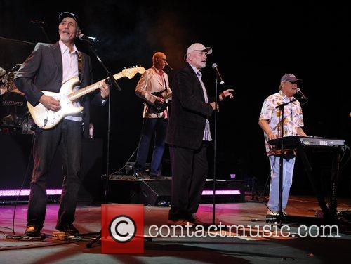 Al Jardine, Mike Love and Bruce Johnston from...
