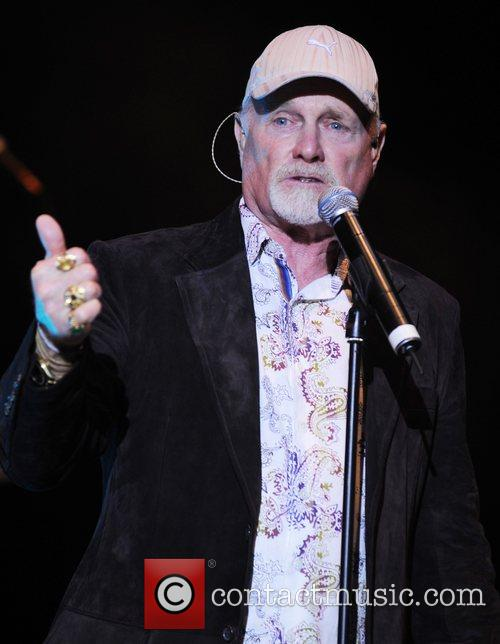Mike Love from The Beach Boys performing at...