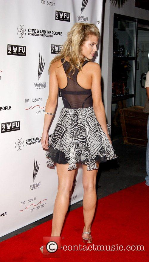 Anna Lynne McCord Grand opening of 'The Beach...