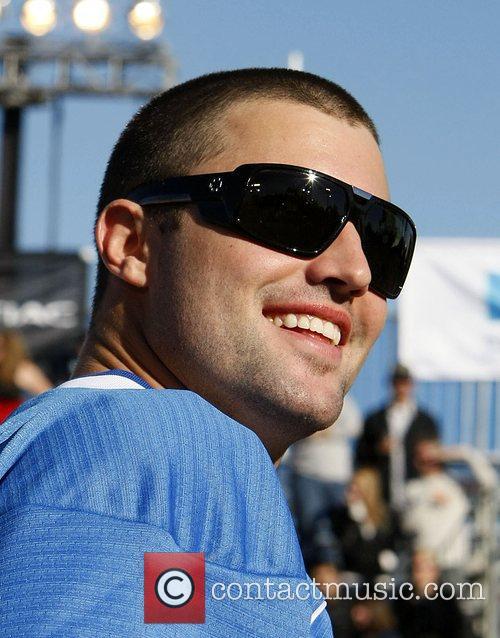 Brody Jenner DirecTV Celebrity Beach Bowl sports event...