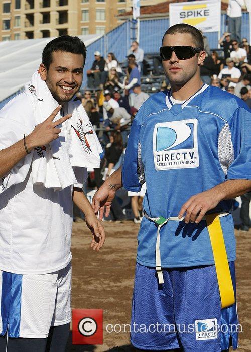 Frankie Delgado and Brody Jenner DirecTV Celebrity Beach...