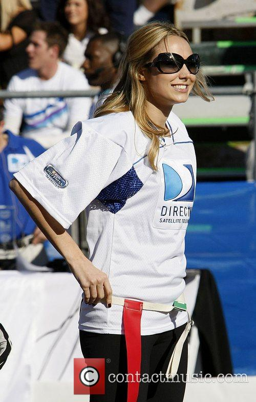 Stacy Keibler DirecTV Celebrity Beach Bowl sports event...