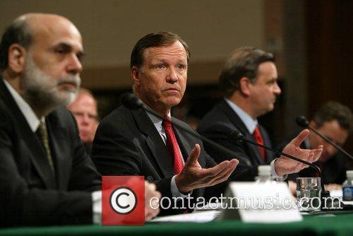 Ben Bernanke, Christopher Cox, Robert Steel The Senate...