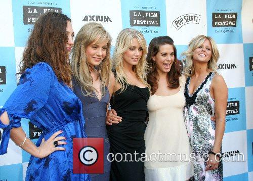 Stella Maeve,Brie Larson,Amber Heard,Lynday Fonseca and Leighton Meester...