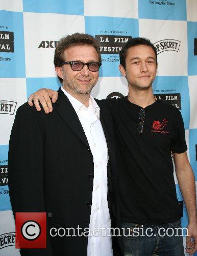 Joseph Gordon-Levitt and father 2007 Los Angeles Film...