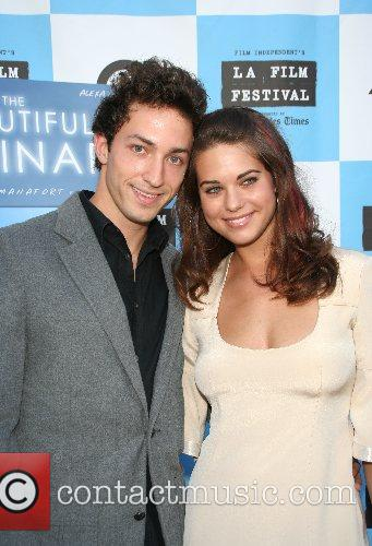 Matthew Smiley and Lyndsy Fonseca 2007 Los Angeles...