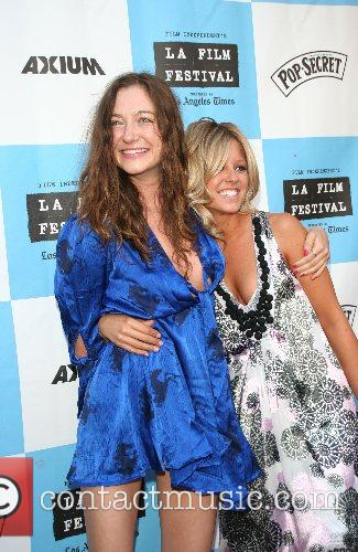 Stella Maeve and Leighton Meester 2007 Los Angeles...