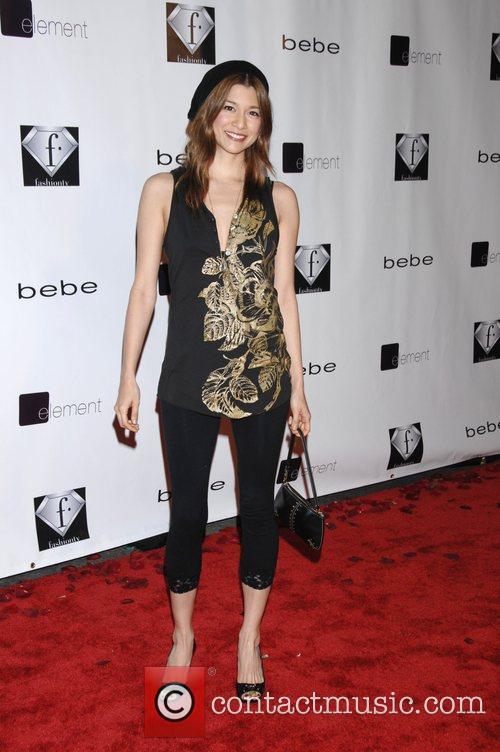 Maya Hazen 'Celebrate the love' with the Bebe...