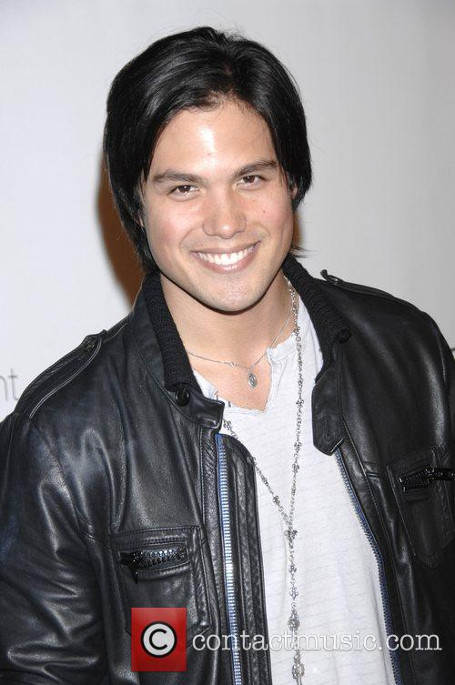 Michael Copon and Bebe Lingerie 1