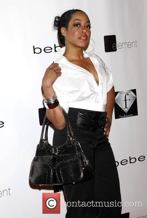 Tishina Arnold 'Celebrate the love' with the Bebe...