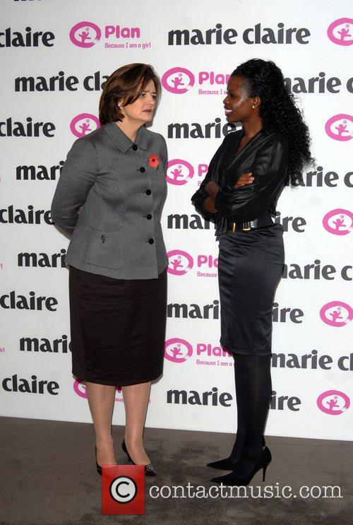 Cherie Blair and June Sarpong 7
