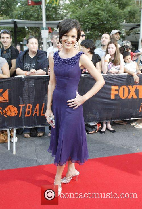 Natarsha Belling 'Foxtel Is Football' party in honor...