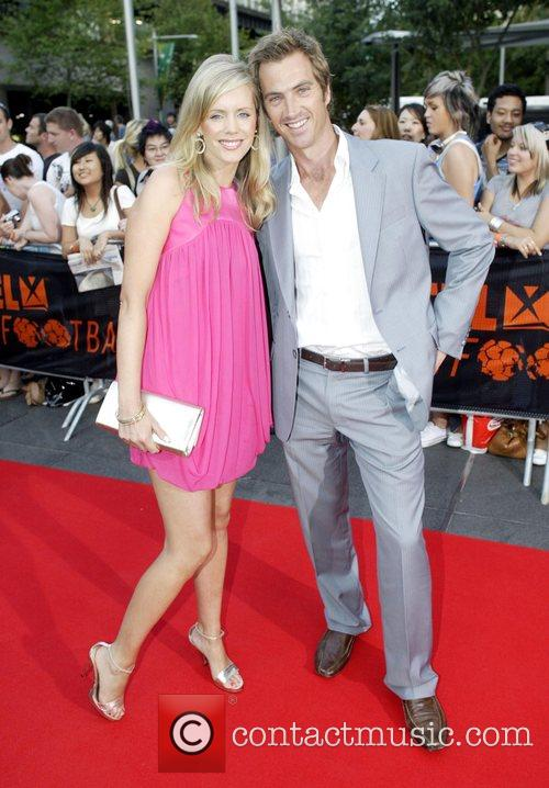 Sophie Falkiner and Tony Thomas  'Foxtel Is...