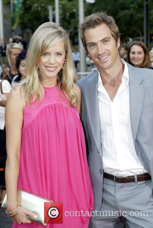 Sophie Falkiner and David Beckham 2