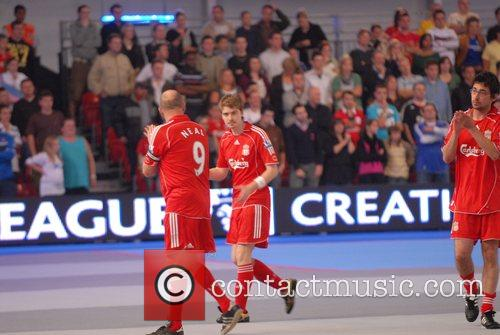 Euan Blair and David Beckham 25