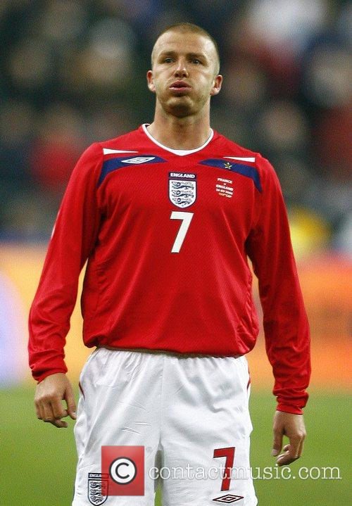 David Beckham of England as he wins his...