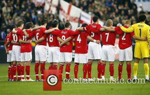 France v England - International Friendly football match...