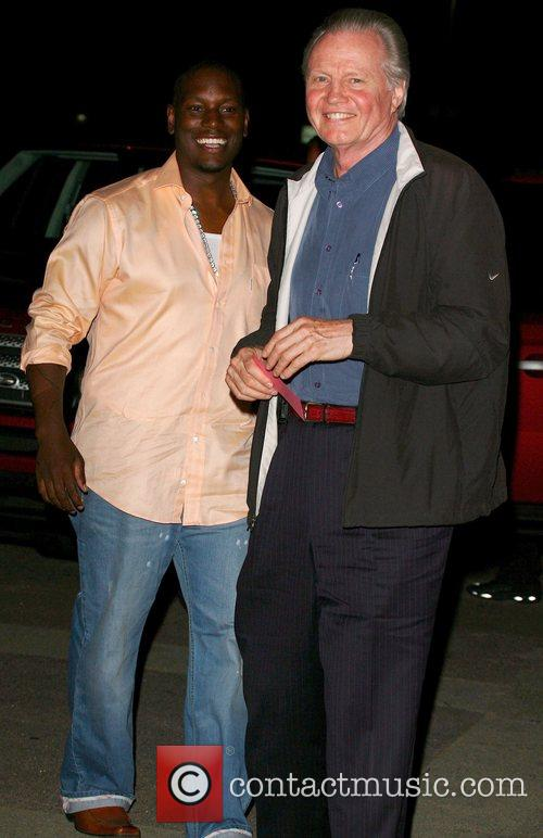 Tyrese Gibson and Jon Voight party to welcome...