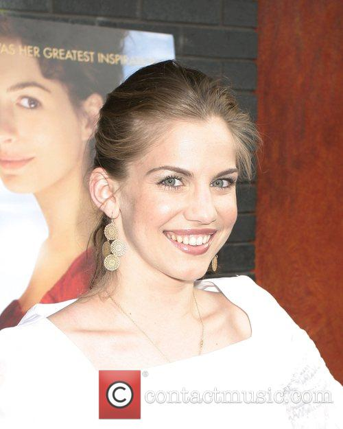 Anna Chlumsky New York Premiere of 'Becoming Jane'...