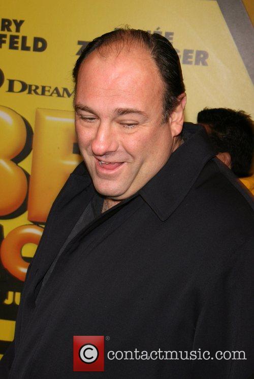 James Gandolfini New York premiere of the Dreamworks...