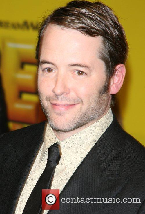Matthew Broderick New York premiere of the Dreamworks...