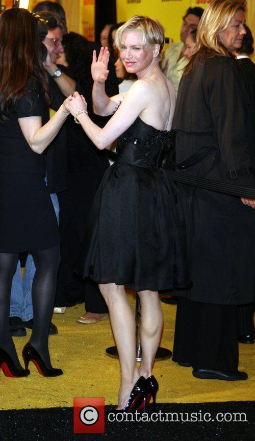 Renee Zellweger New York premiere of the Dreamworks...