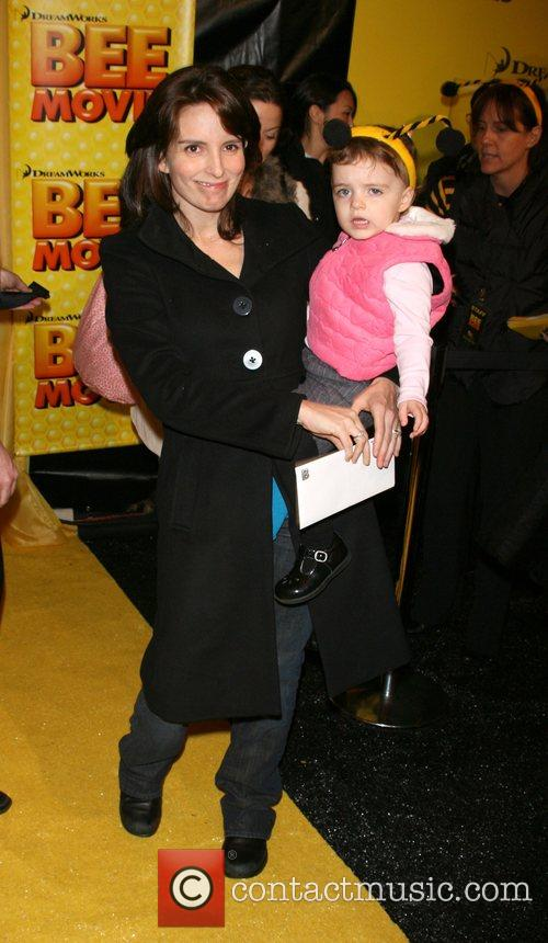 Tina Fey and daughter Alice Fey New York...
