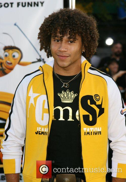 Corbin Bleu Los Angeles film premiere of 'Bee...