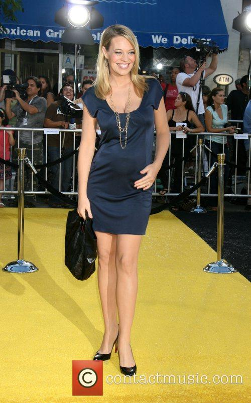 Jeri Ryan Los Angeles film premiere of 'Bee...