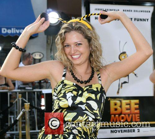 Lauren Storm Los Angeles film premiere of 'Bee...