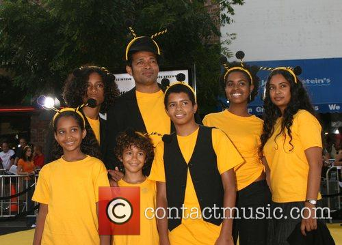 Mario Van Peebles and Family Los Angeles film...