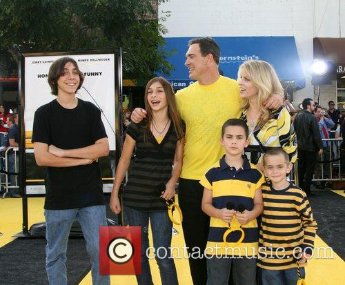 Patrick Warburton and Family Los Angeles film premiere...