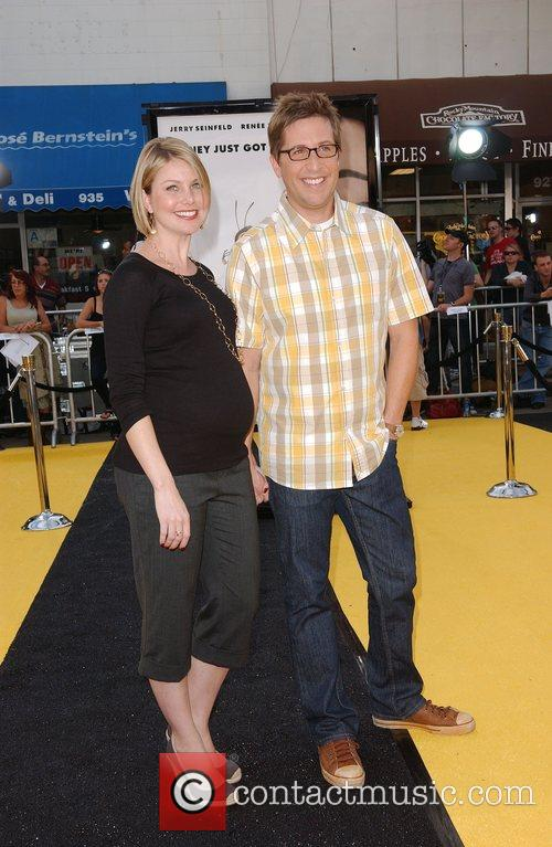Spike Feresten and wife Los Angeles film premiere...